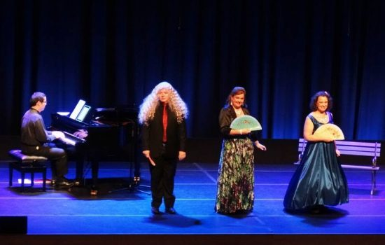 Three Little Maids concert by professional singers