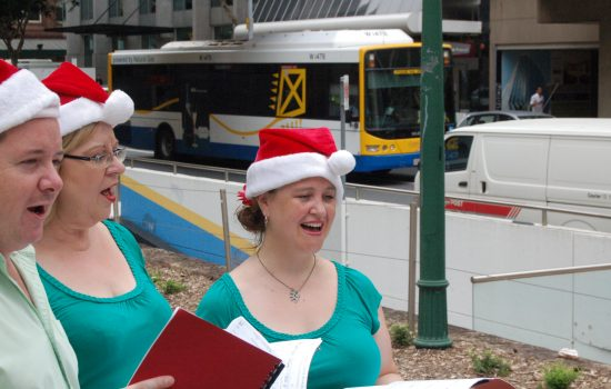 Christmas Carol Singers for festive events