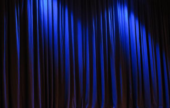 adjudication stage curtain