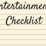 entertainment checklist – Brisbane Wedding Musicians